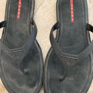 b750ebb9a Men s Prada flip flops